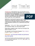 Trabajo Funciones Lineales Wiki
