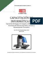 Antologia - Capacitación de Informatica III Semestre