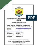 [KTSP] Model Kurikulum SD KTSP