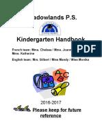 copy of kindergarten handbook 2016-17