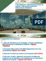 Ley de Probidad y Formulario