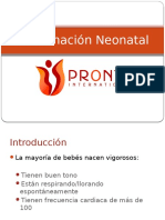 Reanimacion Neonatal PRONTO