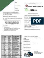 Start Sheet - Open 25' - 2010