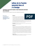la idea del diseño de le corbusier