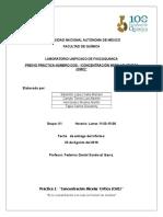Práctica 2 Determinación de La CMC