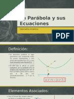 La Parabola y Sus Ecuaciones
