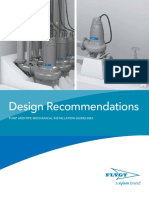 Design Recommendations - Pump and Pipe Mechanical Installation Guidelines