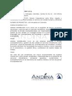 Inmobiliaria Andina s