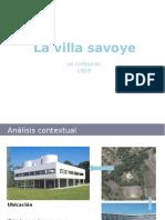 Analisis Villa Savoye