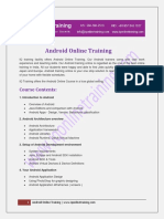 Android Instructor-led live online xyz with 24x7 on demand supportOnline Training