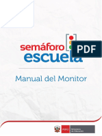 Semaforo Escuela Manual Del Monitor