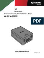 Wlaeag300n Manual