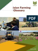 Precision Farming Glossary 2009