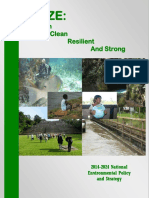 2014-2024 National Environmental Policy and Strategy