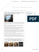 LAUSD's Board President, Monica Garcia, spoke at Pacifica Institute (September 13, 2012) | Pacifica Institute | Los Angeles