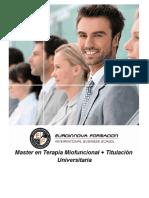 Master en Terapia Miofuncional + Titulación Universitaria