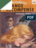 Airlie, Catherine - [Harlequin Romance 511] - Strange Recompense.epub