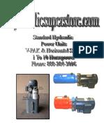 Power Unit Brochures Hydraulicsuperstore