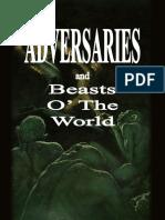 Adversaries - Dark Tower RPG