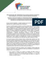 """Otra chapuza más """"anti–transparencia"""""""