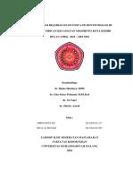 Epidemiologi HFMD di Wilayah Kerja Puskesmas Mrican Tahun 2016