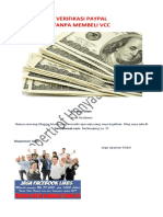 Verifikasi Paypal Tanpa Membeli Vcc