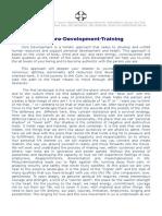 Program Core Development Treninga