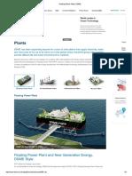 Floating Power Plant _ DSME