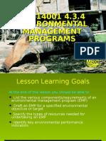 Lesson 07 - Environmental Management Programs