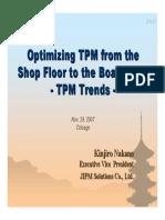 TPM Conference JIPM Nakano