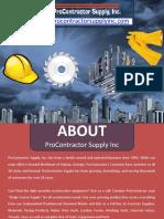 Construction Equipments - Construction Supplies