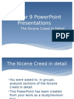 nicene creed in detail
