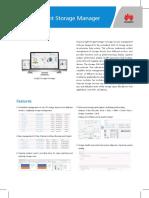 Huawei ESight Storage Manager Data Sheet