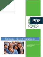 student parent handbook 2016-17 al khor