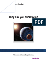 They Ask U About Allah