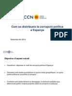 CCN Com Es Distribueix La Corrupció Política a Espanya