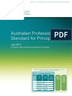australian professional standards for principals