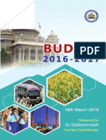 Karnataka Budget 2016-17