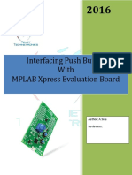 MPLAB Xpress Evaluation Board Push Button