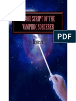 Blood Script of the Vampiric Sorcerer – Volume I
