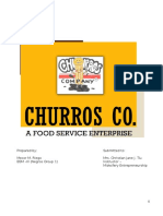 Entrep Business Plan Churros