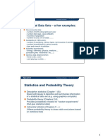 Statistics and Probability - Introduction