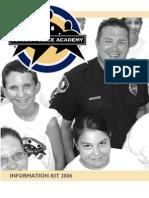 Junior Police Academy Guide
