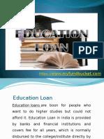 Apply Education Loan Online