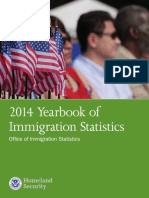2014 Yearbook on Immigration Statistics