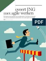 Zo innoveert ING met agile werken