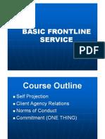 Frontline Service 1