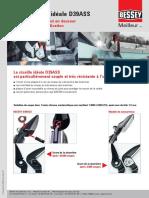 ERDI Cisaille idéale D39ASS