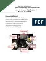 Bruker_D8_Discover_2D_Manual_v2012.08.08