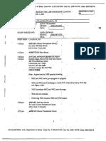 October 2011 Schedule